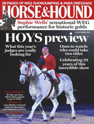 Horse & Hound 27th September 2018