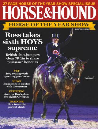 Horse & Hound 11th October 2018