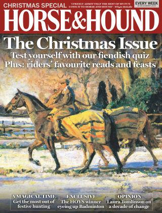 Horse & Hound 19th December 2019