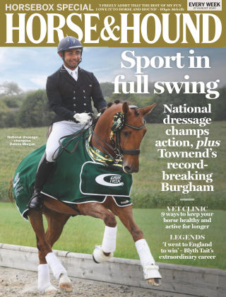 Horse & Hound 27th August 2020
