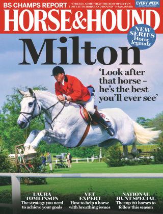 Horse & Hound 15th October 2020