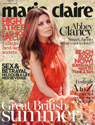 Marie Claire UK July 2014