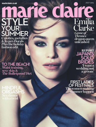 Marie Claire UK July 2015