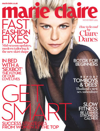Marie Claire UK November 2015