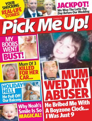 Pick Me Up! 15th September 2016