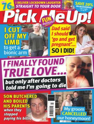 Pick Me Up! 19th November 2020