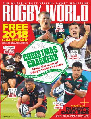 Rugby World Jan 2018
