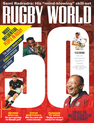 Rugby World August 2020