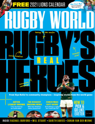 Rugby World January 2021