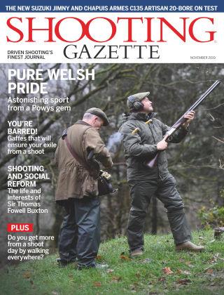Shooting Gazette Nov 2019