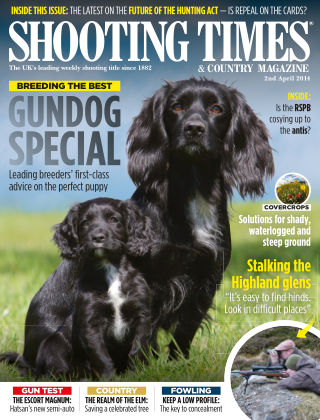 Shooting Times & Country Magazine 2nd April 2014