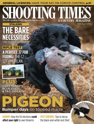 Shooting Times & Country Magazine 16th April 2014