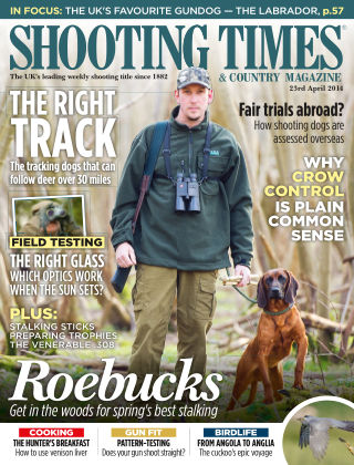 Shooting Times & Country Magazine 23rd April 2014