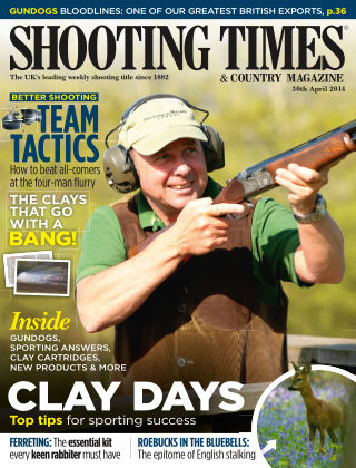 Shooting Times & Country Magazine 30th April 2014