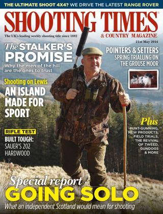 Shooting Times & Country Magazine 21st May 2014
