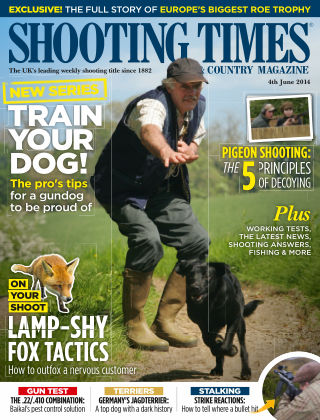 Shooting Times & Country Magazine 4th June 2014