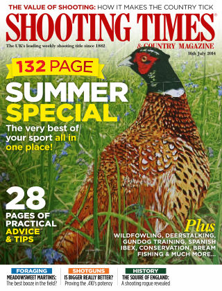 Shooting Times & Country Magazine 16th July 2014