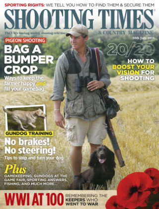 Shooting Times & Country Magazine 30th July 2014
