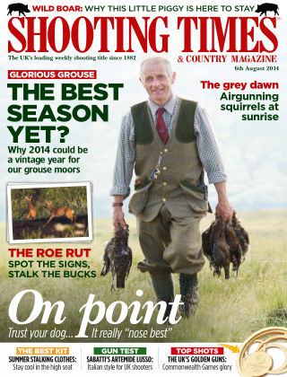 Shooting Times & Country Magazine 6th August 2014