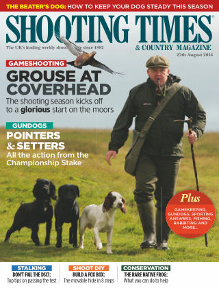 Shooting Times & Country Magazine 27th August 2014