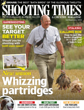 Shooting Times & Country Magazine 3rd September 2014