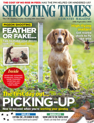 Shooting Times & Country Magazine 10th September 2014