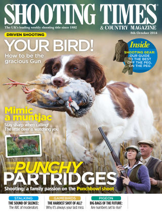Shooting Times & Country Magazine 8th October 2014