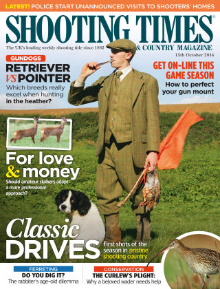 Shooting Times & Country Magazine 15th October 2014
