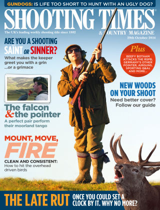 Shooting Times & Country Magazine 29th October 2014