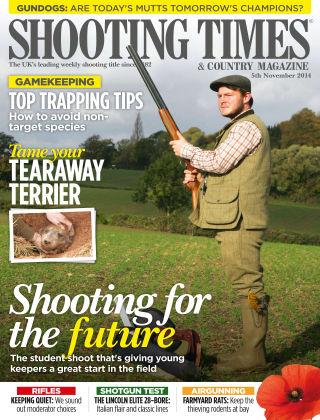 Shooting Times & Country Magazine 5th November 2014