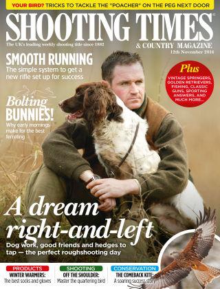 Shooting Times & Country Magazine 12th November 2014