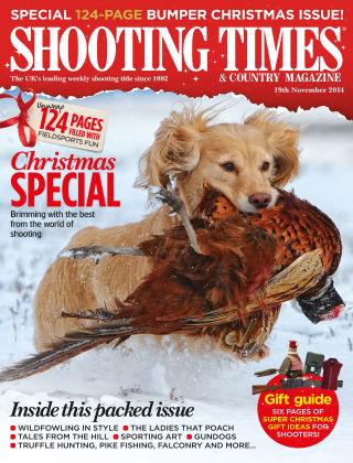 Shooting Times & Country Magazine 19th November 2014