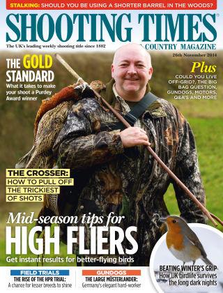 Shooting Times & Country Magazine 26th November 2014