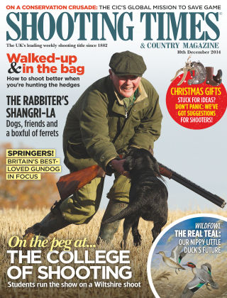 Shooting Times & Country Magazine 10th December 2014