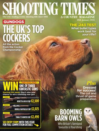 Shooting Times & Country Magazine 28th January 2015