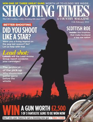 Shooting Times & Country Magazine 11th February 2015
