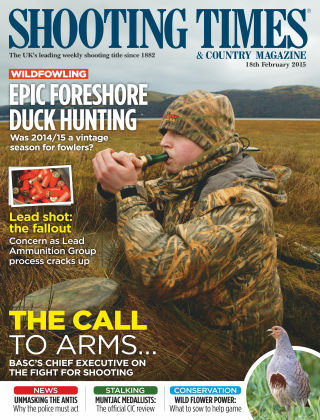 Shooting Times & Country Magazine 18th February 2015