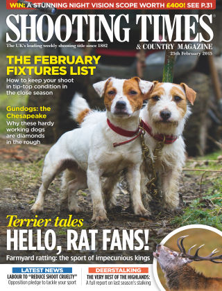 Shooting Times & Country Magazine 25th February 2015