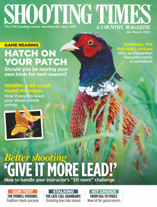 Shooting Times & Country Magazine 4th March 2015