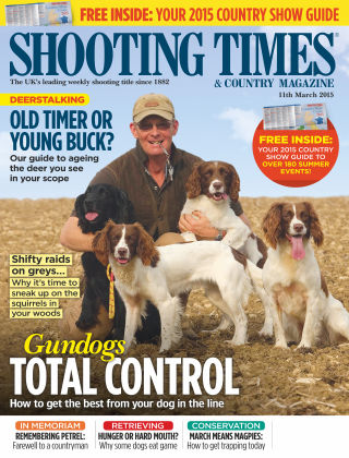 Shooting Times & Country Magazine 11th March 2015