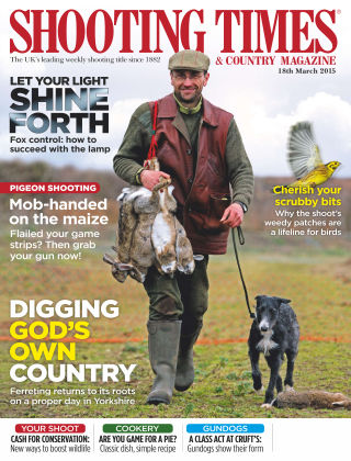 Shooting Times & Country Magazine 18th March 2015