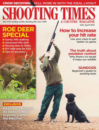 Shooting Times & Country Magazine 15th April 2015