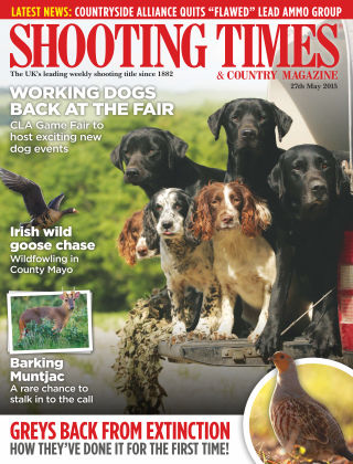 Shooting Times & Country Magazine 27th May 2015