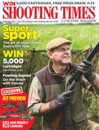 Shooting Times & Country Magazine 22nd July 2015