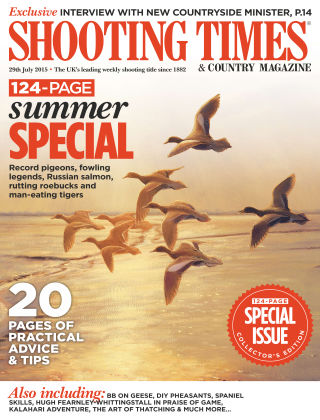 Shooting Times & Country Magazine 29th July 2015