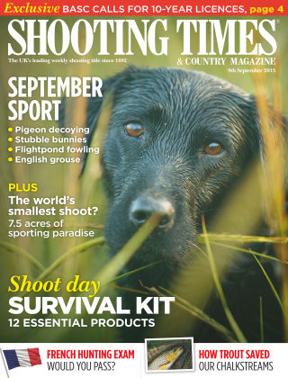 Shooting Times & Country Magazine 9th September 2015