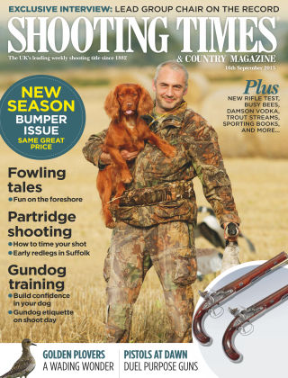 Shooting Times & Country Magazine 16th September 2015
