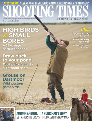 Shooting Times & Country Magazine 23rd September 2015