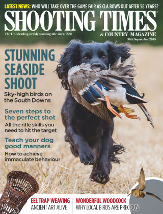 Shooting Times & Country Magazine 30th September 2015