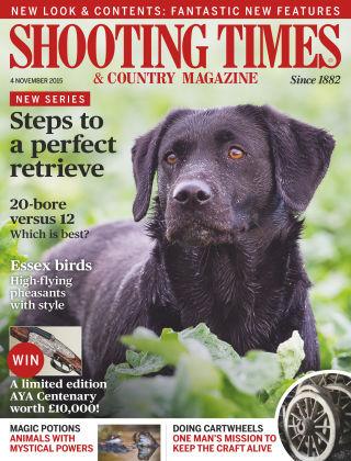 Shooting Times & Country Magazine 4th November 2015